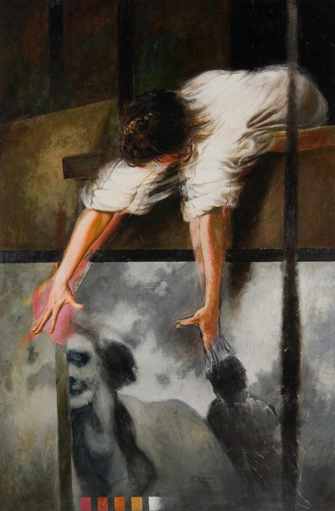 Manuel Quintana Martelo, pintor español residente en Madrid.