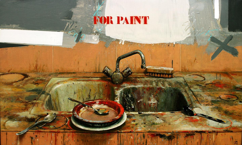 Quintana Martelo, for paint, pintor, obras, óleos, compostela