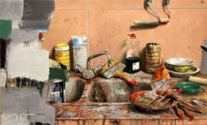 Quintana Martelo pintor obras óleos