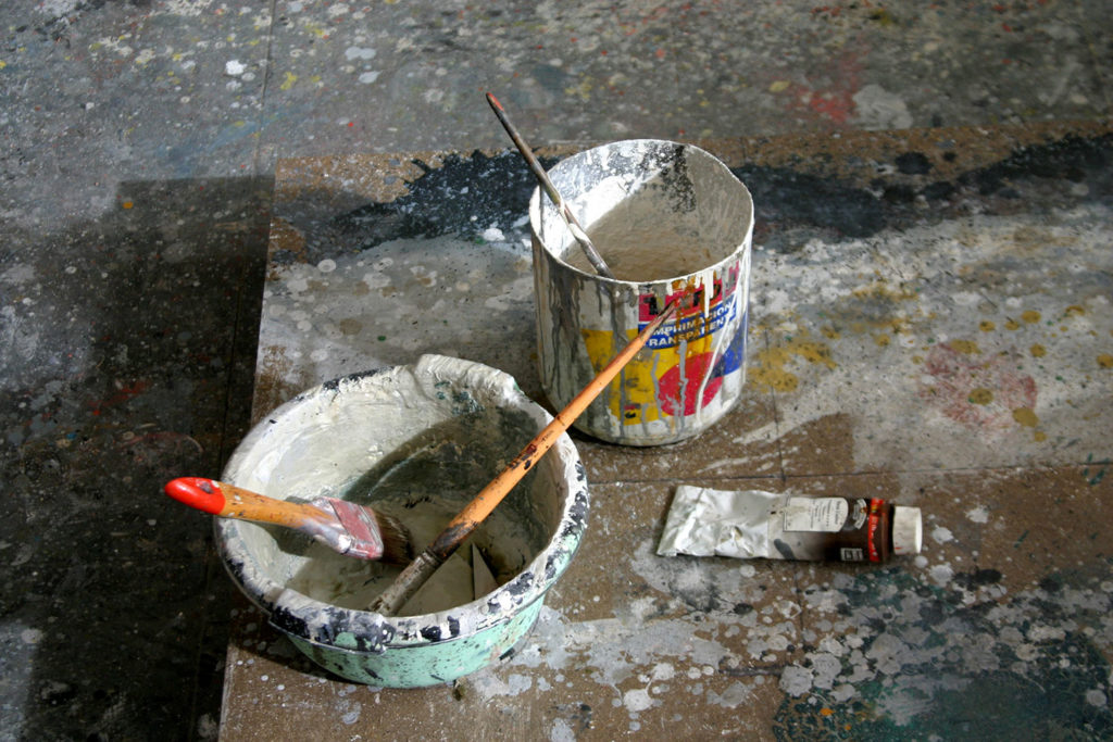 Instalación para le exposición Quintana Martelo.