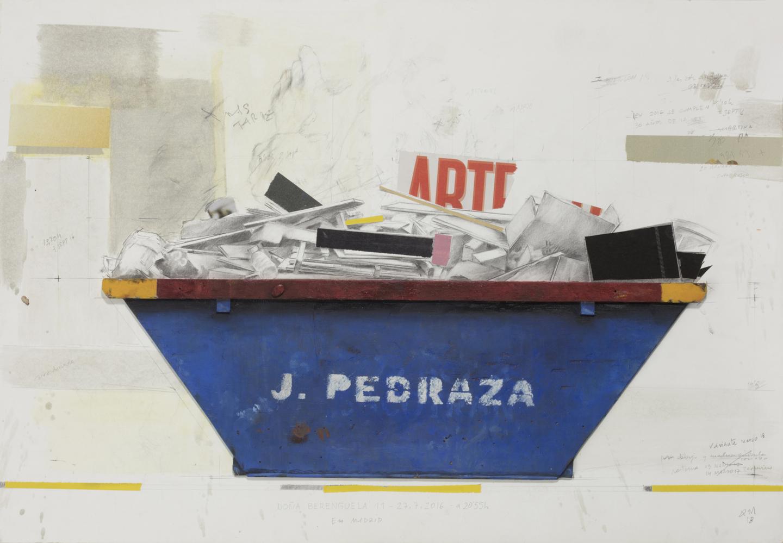 Quintana Martelo, artista plástico.