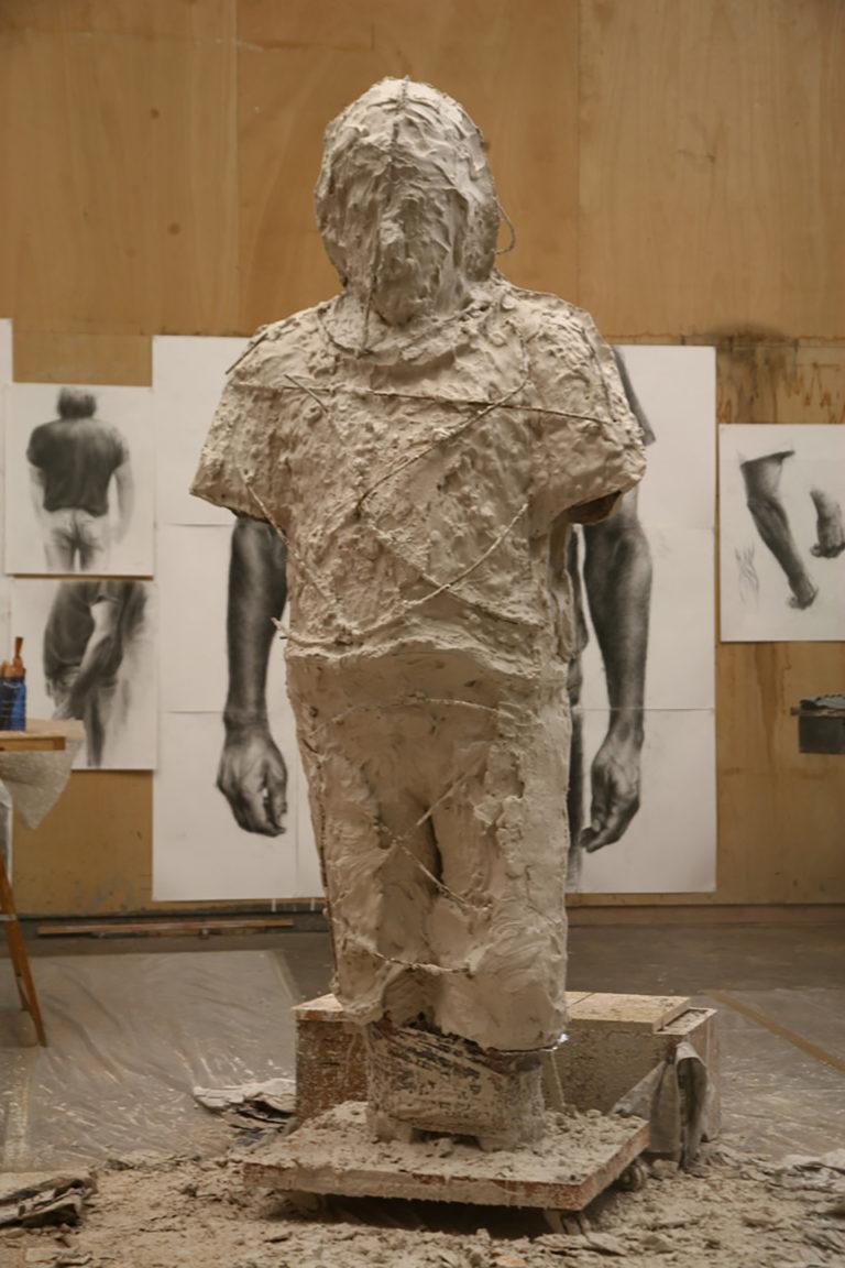 Molde para escultura de Quintana Martelo
