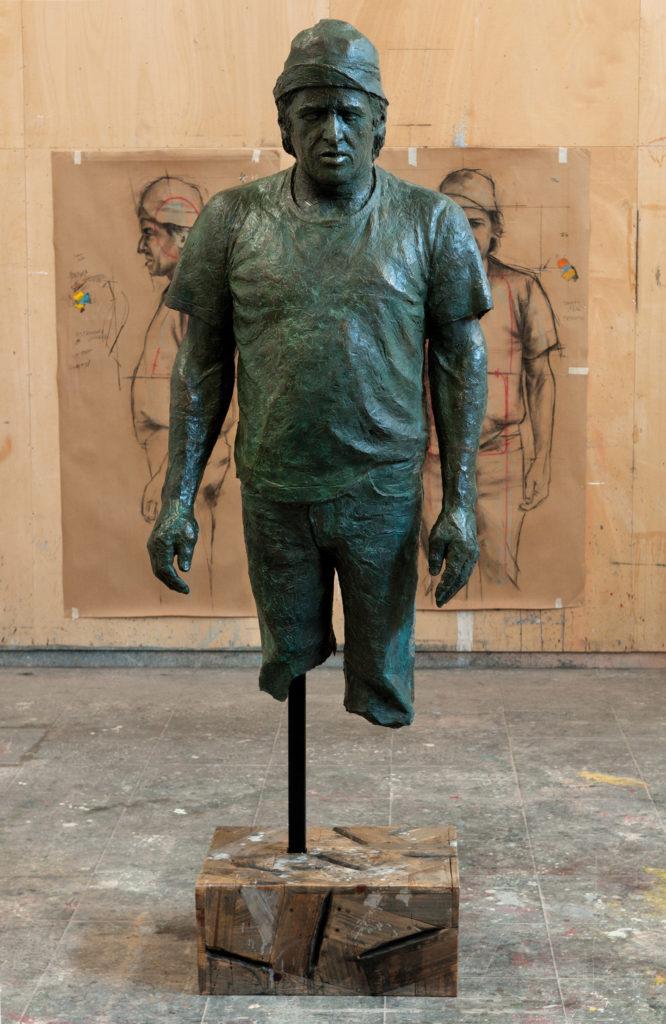 Escultura del artista plástico Manuel Quintana Martelo.