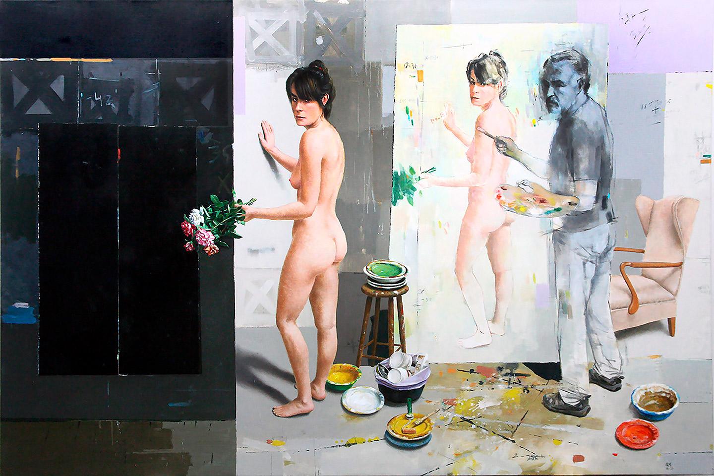 Quintana Martelo. Pintor español.