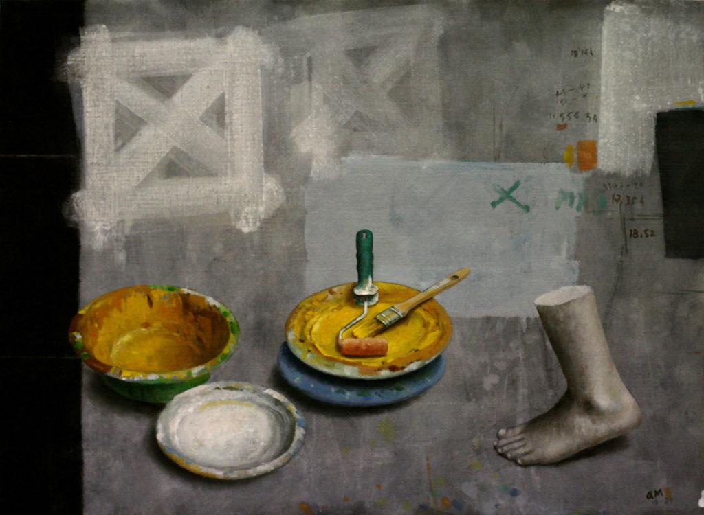 Manuel Quintana Martelo, pintor en Madrid