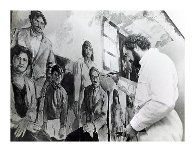 el pintor Quintana Martelo