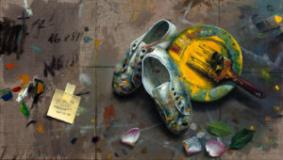 Quintana Martelo, artista plástico