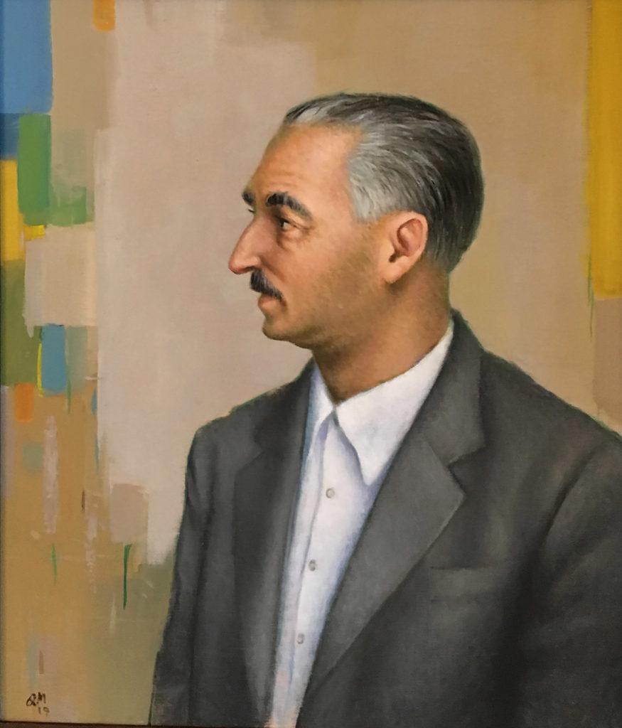 Manuel Quintana martelo y el retrato