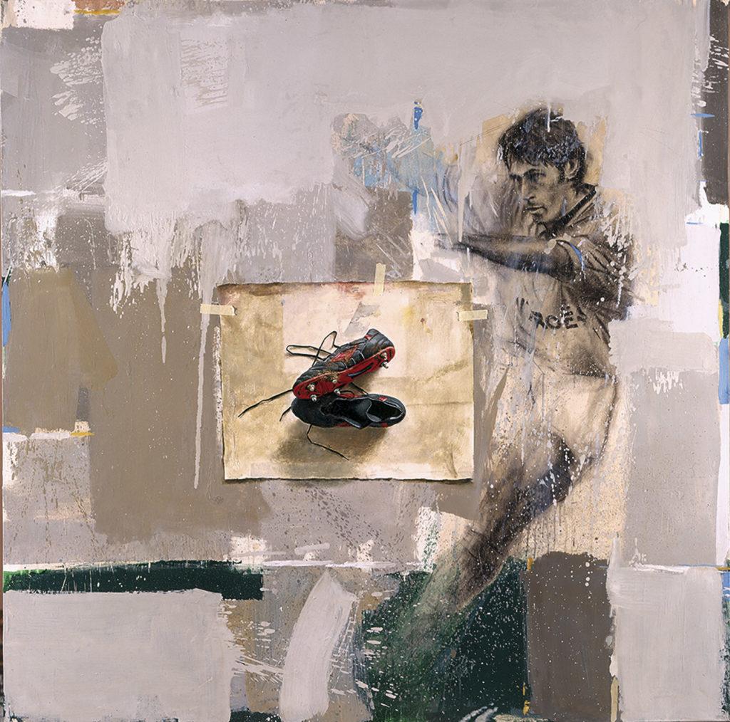 Quintana Martelo pintor compostelano.