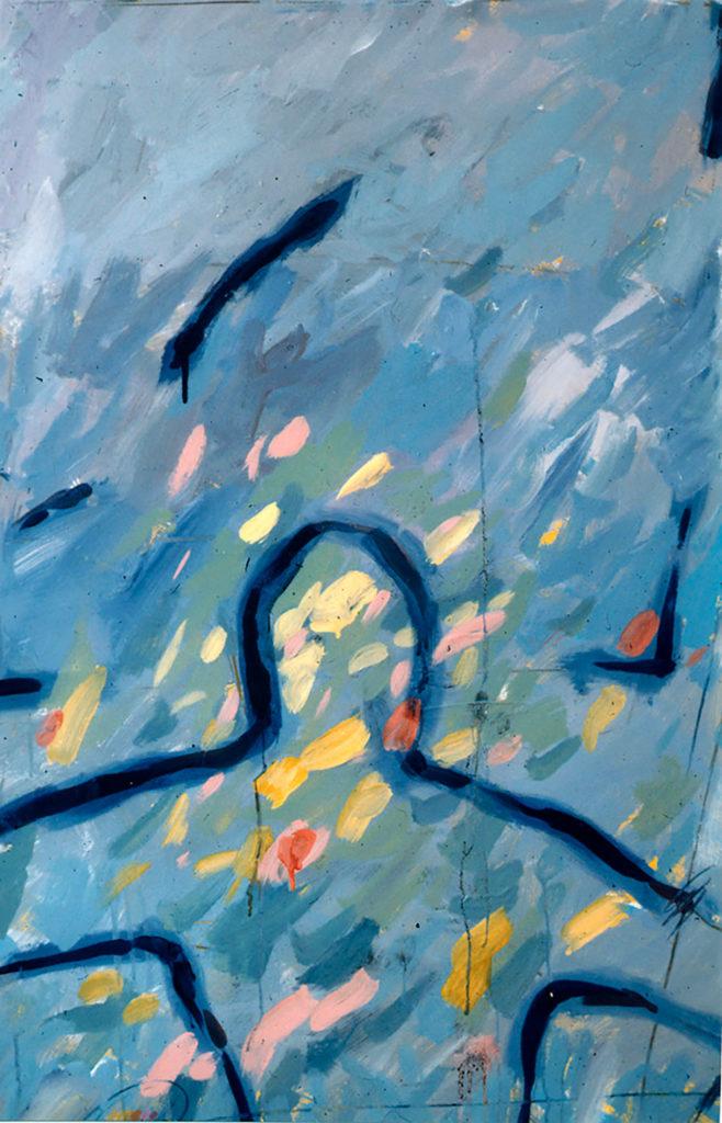 Quintana Martelo pintor español en la década de los 80.