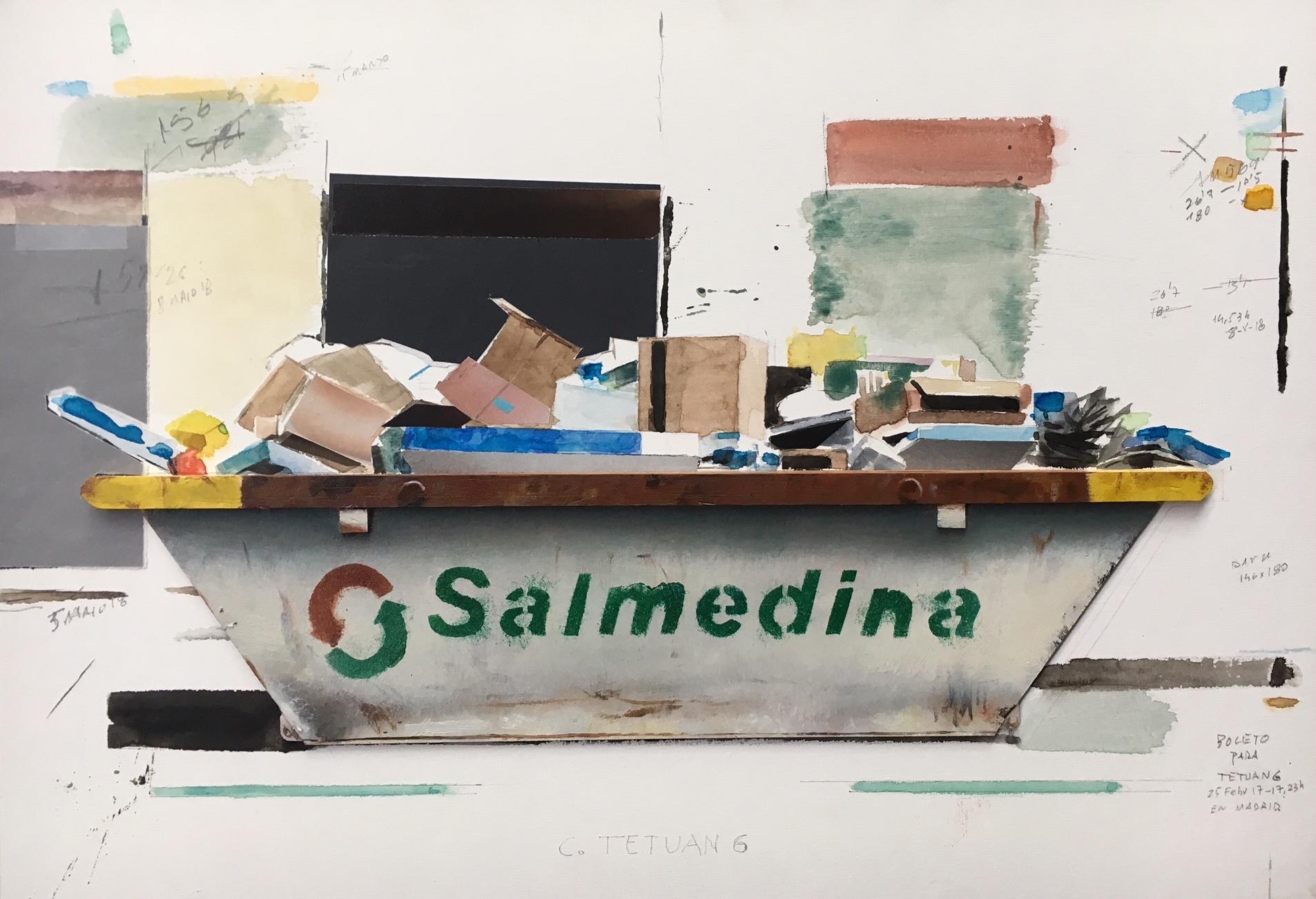 Serie containers de Quintana Martelo.