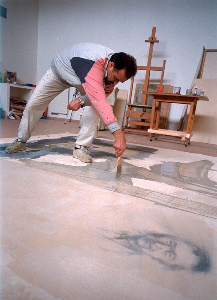 Manuel Quintana Martelo, pintor compostelano