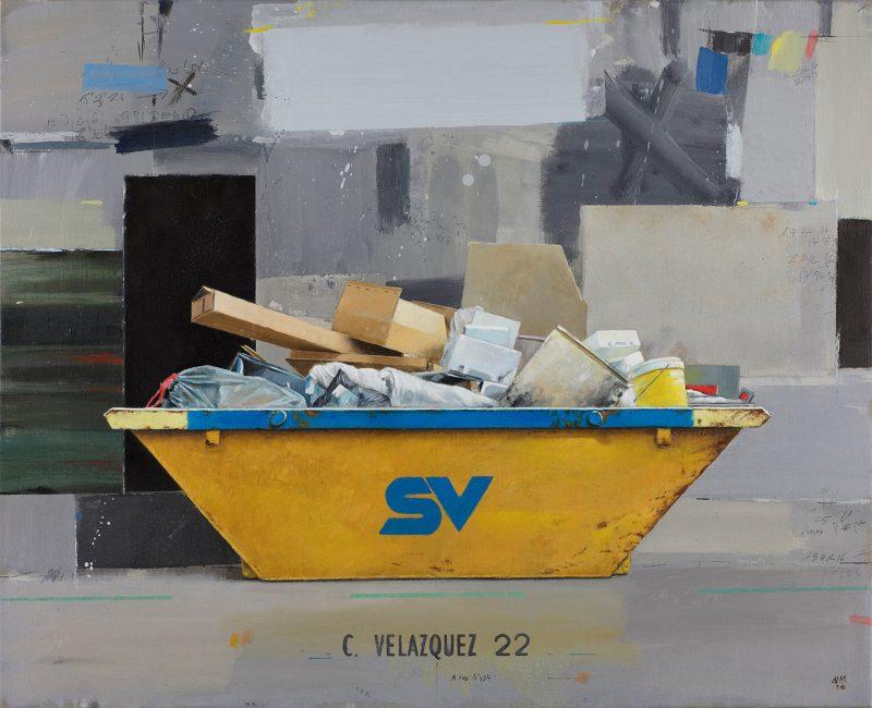 pintura realizada al óleo por el artista plástico Manuel Quintana Martelo