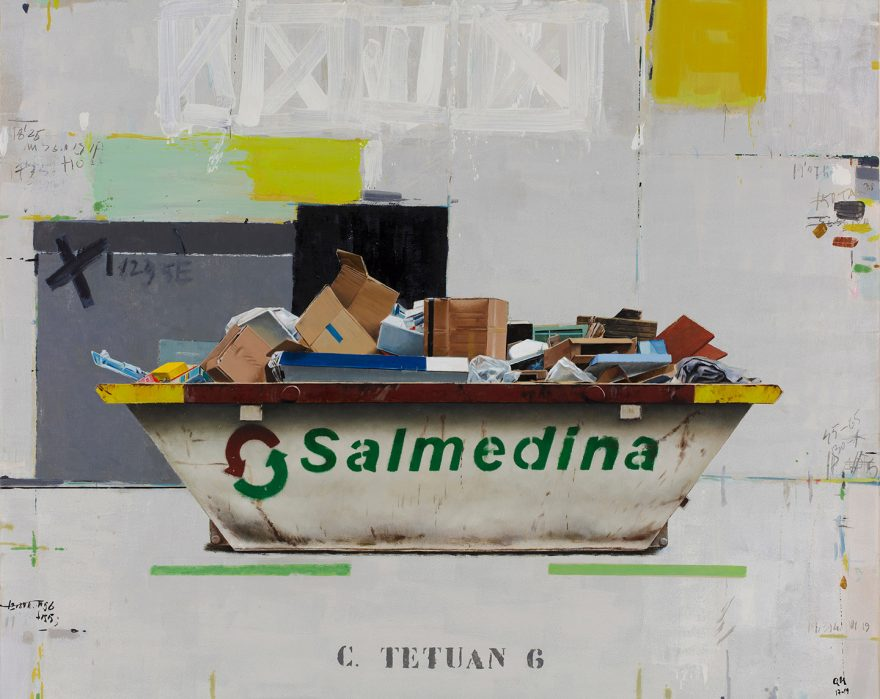 Pintura al óleo realizada por el artista plástico, Manuel Quintana Martelo.