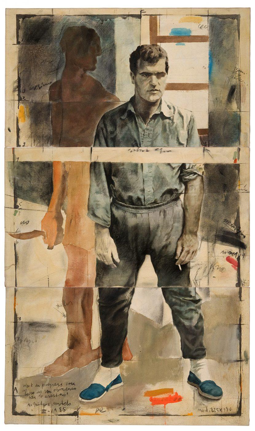 Pintura realizada por el artista plástico Manuel Quintana Martelo.