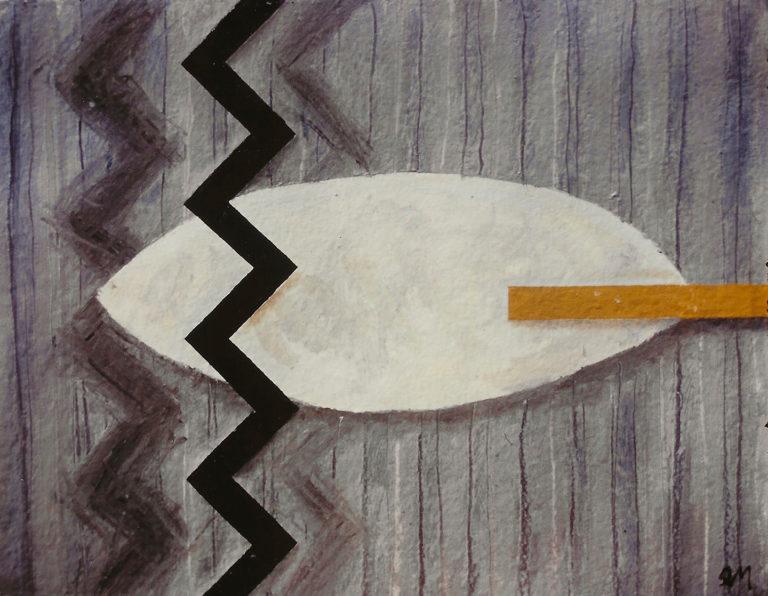 Pintura al óleo, realizada por el artista plástico Manuel Quintana Martelo.