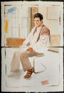 Manuel Quintana Martelo, artista plástico.