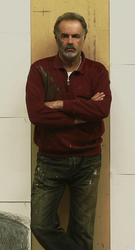 El pintor y escultor Manuel Quintana Martelo.