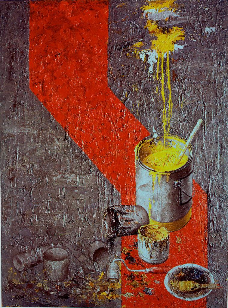 quintana martelo, pintor, escultor español.