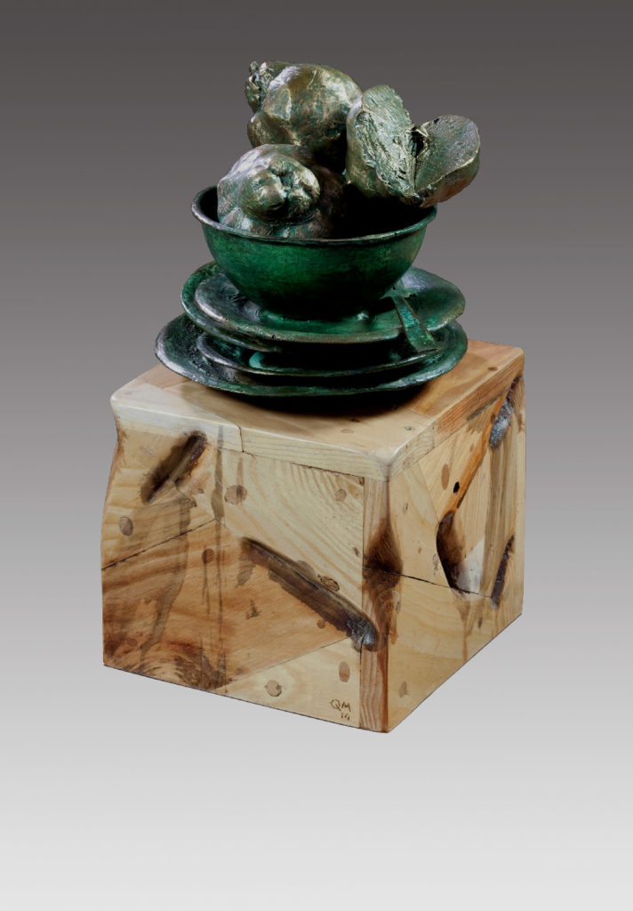 Manuel Quintana Martelo, esculturas.