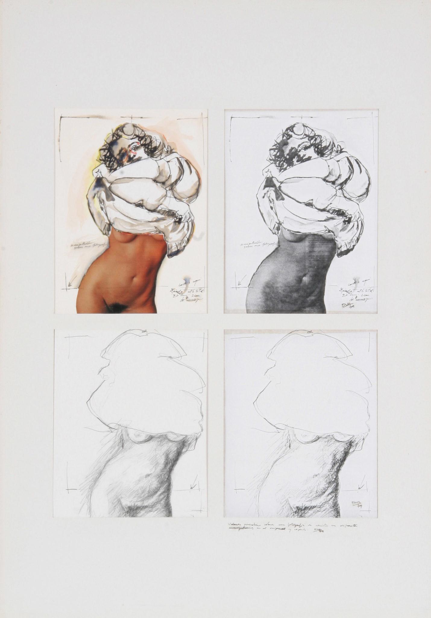 Manuel Quintana Martelo, dibujos.