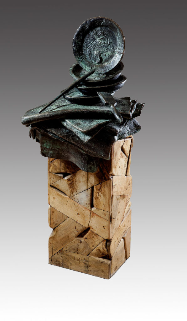 Manuel Quintana Martelo, escultura.