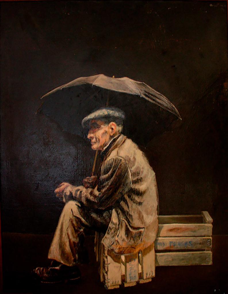 Manuel Quintana Martelo, pintor español.